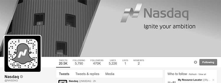 Regulated Social Media - Finance - NASDAQ