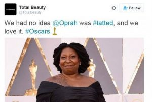 oprah tweet total beauty