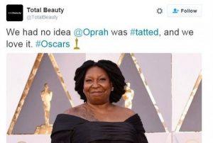 oprah tweet total beauty