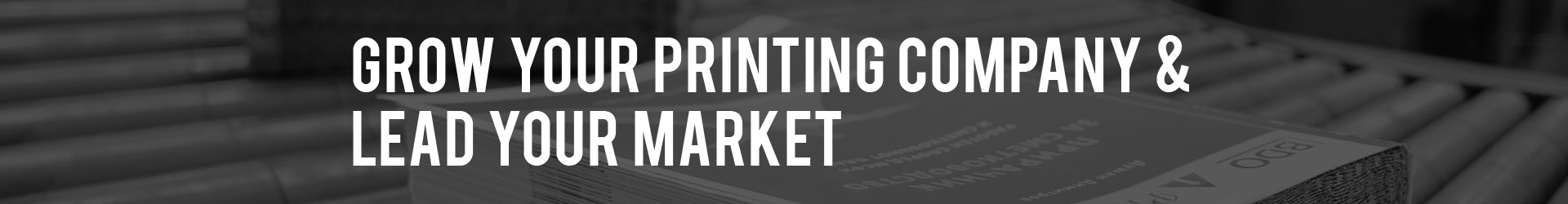 Grow Your Commercial Printing Company through Digital Marketing