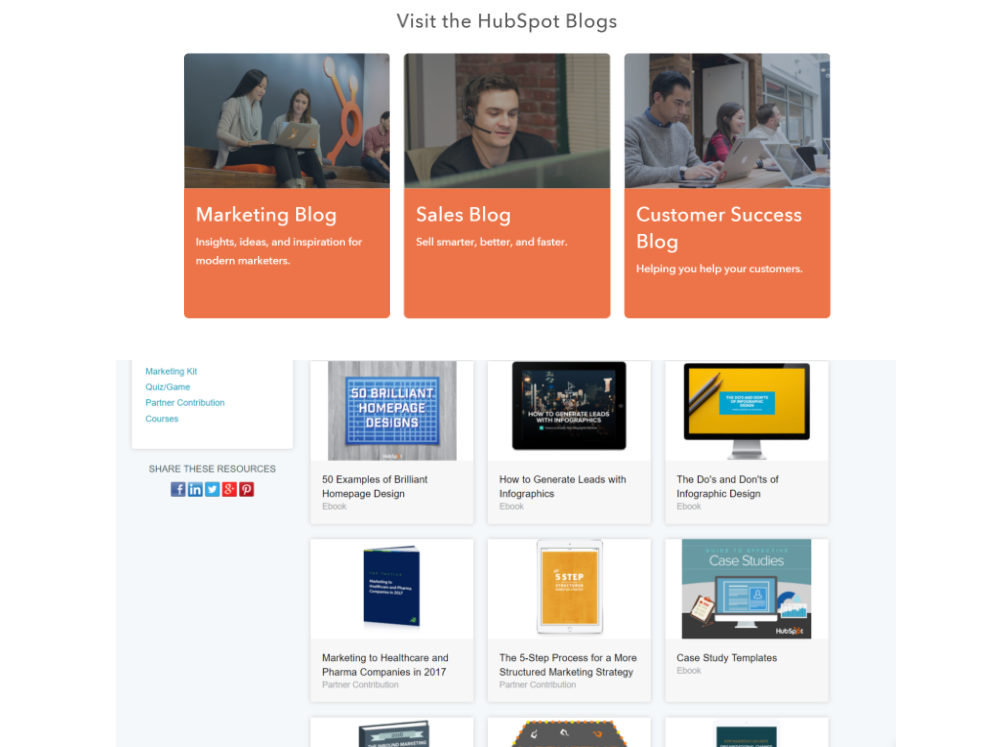 HubSpot B2B_Content_Marketing_Example