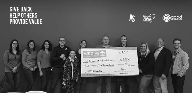 Acumen Studio Donates to St. Louis Charity Friends of Kids with Cancer