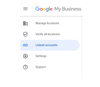 Google My Business Linked Accounts Linking Accounts