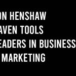 Jon henshaw raven tools tapclicks leaders in business and marketing
